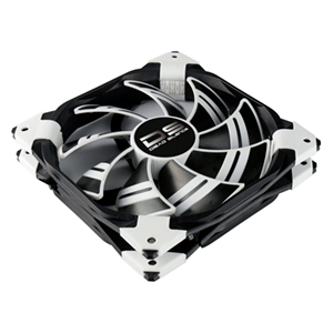 Aerocool Ds Fan Blanco y Negro - Ventilador 120mm