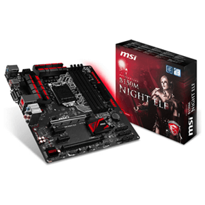MSI B150M Night Elf LGA1151 Micro ATX
