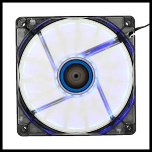 Ventilador Caja Lepa Chopper 120X120X25 Luz Azul