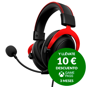 Kingston Hyperx Cloud ll Gaming Headset Red