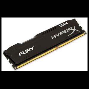 HyperX Fury Negro DDR4 4GB 2400Mhz CL15 - Memoria RAM