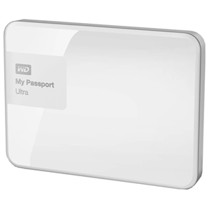 Western Digital My Passport Ultra 3TB Blanco - Disco Duro Externo