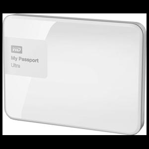Western Digital My Passport Ultra 3TB Blanco - Disco duro externo USB 3 0