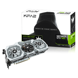 Kfa2 HoF GeForce GTX 980 4G