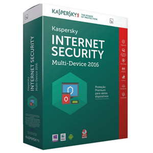 Kaspersky Software Antivirus  2016 Internet Security Multidevice 1 Lic