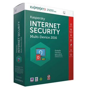 Kaspersky  Software Antivirus 2016 Internet Security Multidevice 3 Lic