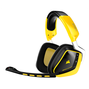 Corsair Gaming Void Wireless Amarillo - Auriculares Gaming
