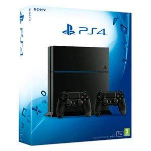 PlayStation 4 1Tb + 2 DualShock 4