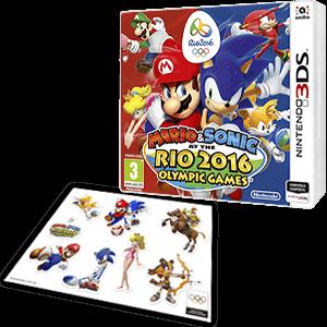 Mario Sonic En Los Juegos Olimpicos Rio 2016 Nintendo 3ds Game Es