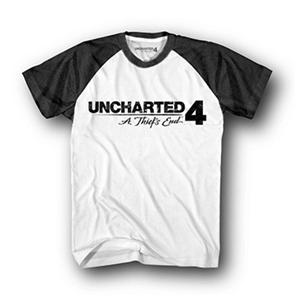 Camiseta Uncharted 4 Logo Talla L