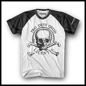 Camiseta Uncharted 4 Pro Deus Quod Licentia Talla S