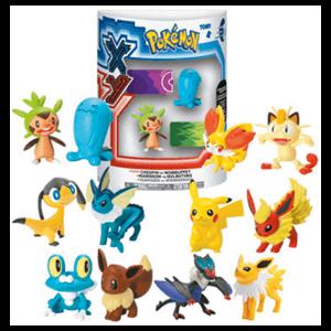 Pack de 2 Figuras Lucha Pokemon XY Surtido