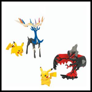 Pack de Pikachu y Legendario Pokemon XY Surtido