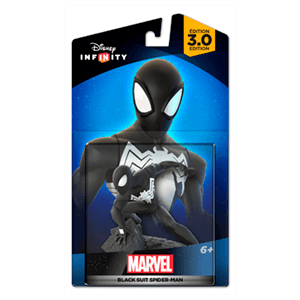 Disney Infinity 3.0 Marvel Figura Black Suit Spiderman