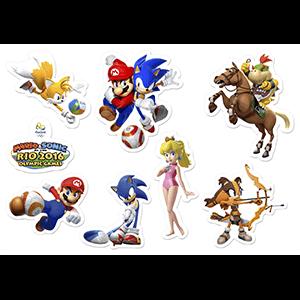 Set de imanes Mario&Sonic JJOO Rio 2016