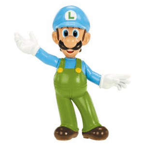 Figura 6cm Nintendo: Luigi Hielo