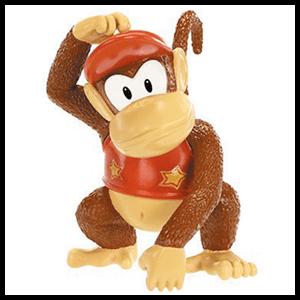 Figura 6cm Nintendo: Diddy Kong