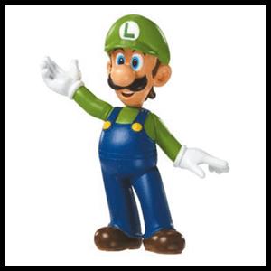 Figura 6cm Nintendo: Luigi