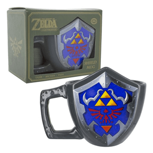 Taza 3D The Legend of Zelda Escudo 11cm