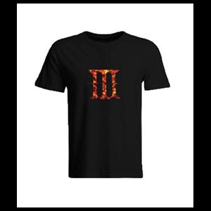 Camiseta Dark Souls III Logo Talla L