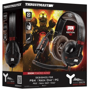 Auriculares Thrustmaster Y-300CPX PS4-PS3-XONE-X360-PC Doom Edition
