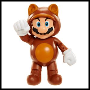 Figura Nintendo 10cm Mario Tanooki