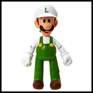 Figura Nintendo 10cm Luigi Fire