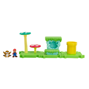 Microplayset Nintendo: Acorn Plains con Mario