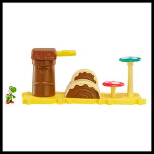 Microplayset Nintendo: Layer Cake Desert con Yoshi