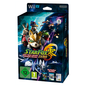 Star Fox Zero First Print Edition