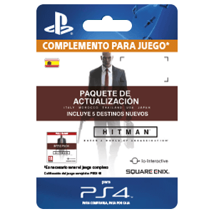 Hitman Upgrade Pack PS4