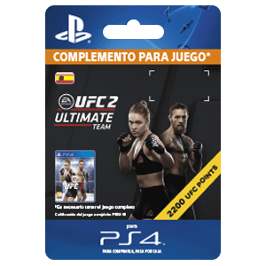 UFC 2 2200 UFC Points PS4