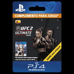 UFC 2 2200 UFC Points PS4