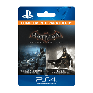 DLC Batgirl y Batmovil PS4