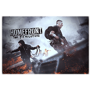 Lamina metalica Homefront the Revolution