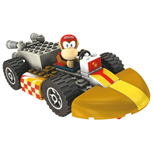 Figura Mario Kart KNEX: Diddy Kong