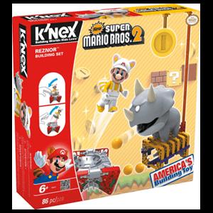 Set de Construcción Mario KNEX 86pzs: Reznor