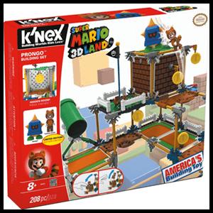 Set de Construcción Mario KNEX 208pzs: Prongo
