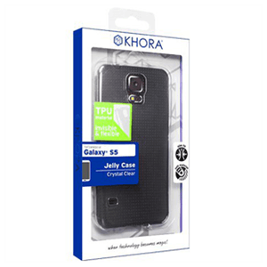 Carcasa flexible Transparente Galaxy S5 Khora