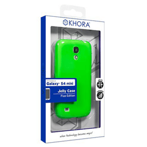 Carcasa flexible Verde Galaxy S4 Mini Khora