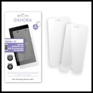 Set de Protección de Pantalla Xperia Z1 Khora