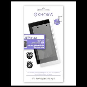 Set de Protección de Pantalla Xperia Z2 Khora
