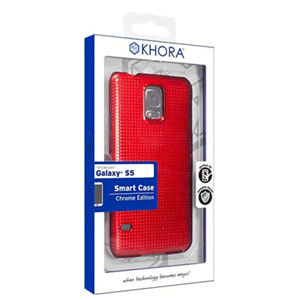Carcasa Rígida Roja para Galaxy S5 Khora