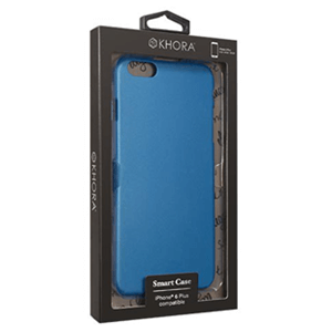 Carcasa Rígida Azul para iPhone 6 Plus Khora