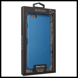 Carcasa Rígida Azul para iPhone 6 Plus Khora