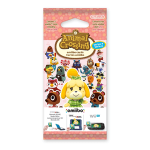 Pack 3 Tarjetas amiibo Animal Crossing HHD - Serie 4