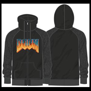 Sudadera Doom Logo Classic Talla L