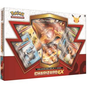 Caja Cartas Pokemon 20 Años JCC Charizard-EX