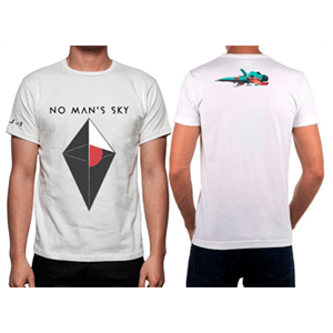 Camiseta No Man's Sky