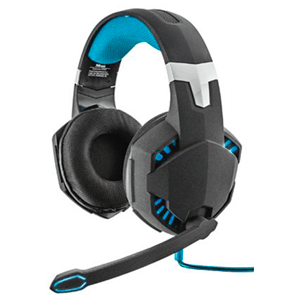 Trust GXT 363 7.1 Bass Vibration USB LED Azul PC-PS4 - Auriculares Gaming